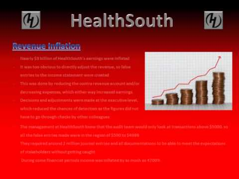 HealthSouth Scandal Summary Presentation