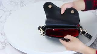 8f3fb3ab5605 MUNDA IT Saddle Handbag With Long Shoulder Strap - Small - JESSICABUURMAN  ...