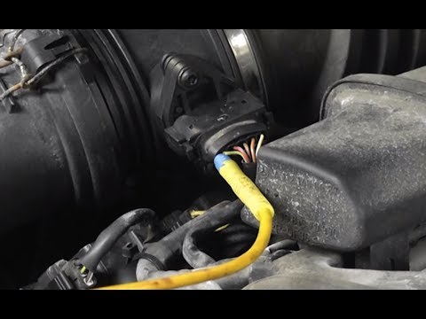 How to troubleshoot a faulty MAF sensor (Mercedes Benz