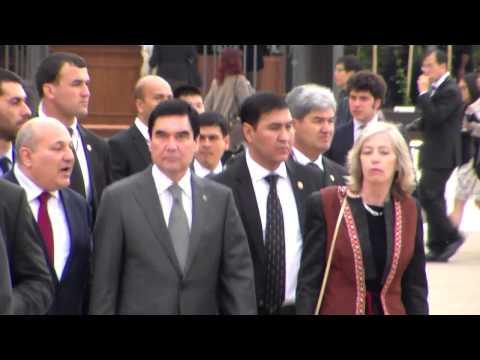 Turkmenistan President Gurbanguly BERDIMUHAMEDOW @ Milano Expo 3 may 2015