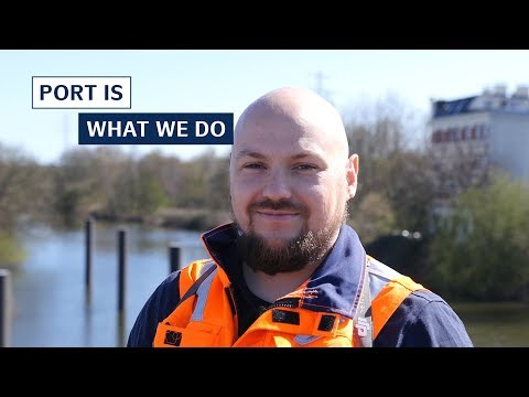 Drone use in the port - inspection from the air