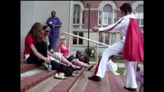 Austin Szelkowski In An Elvis Costume!