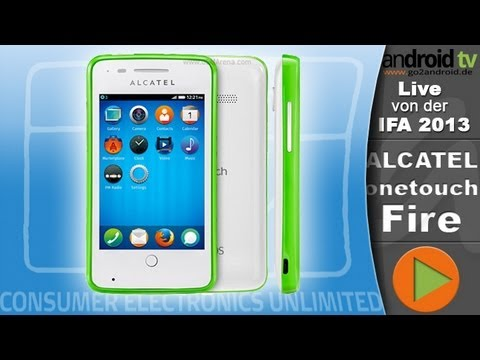 [GER] Alcatel onetouch Fire im Interview - IFA 2013