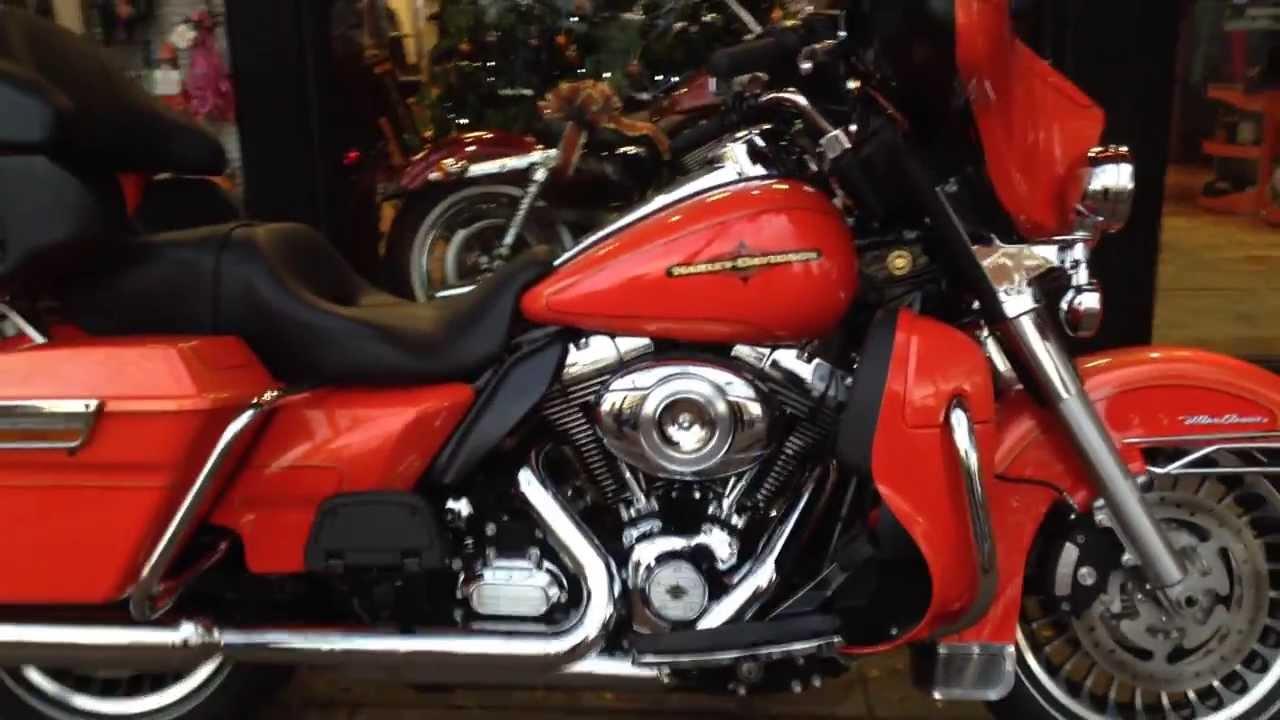 2012 Harley Davidson Electra Glide Tequila Orange West