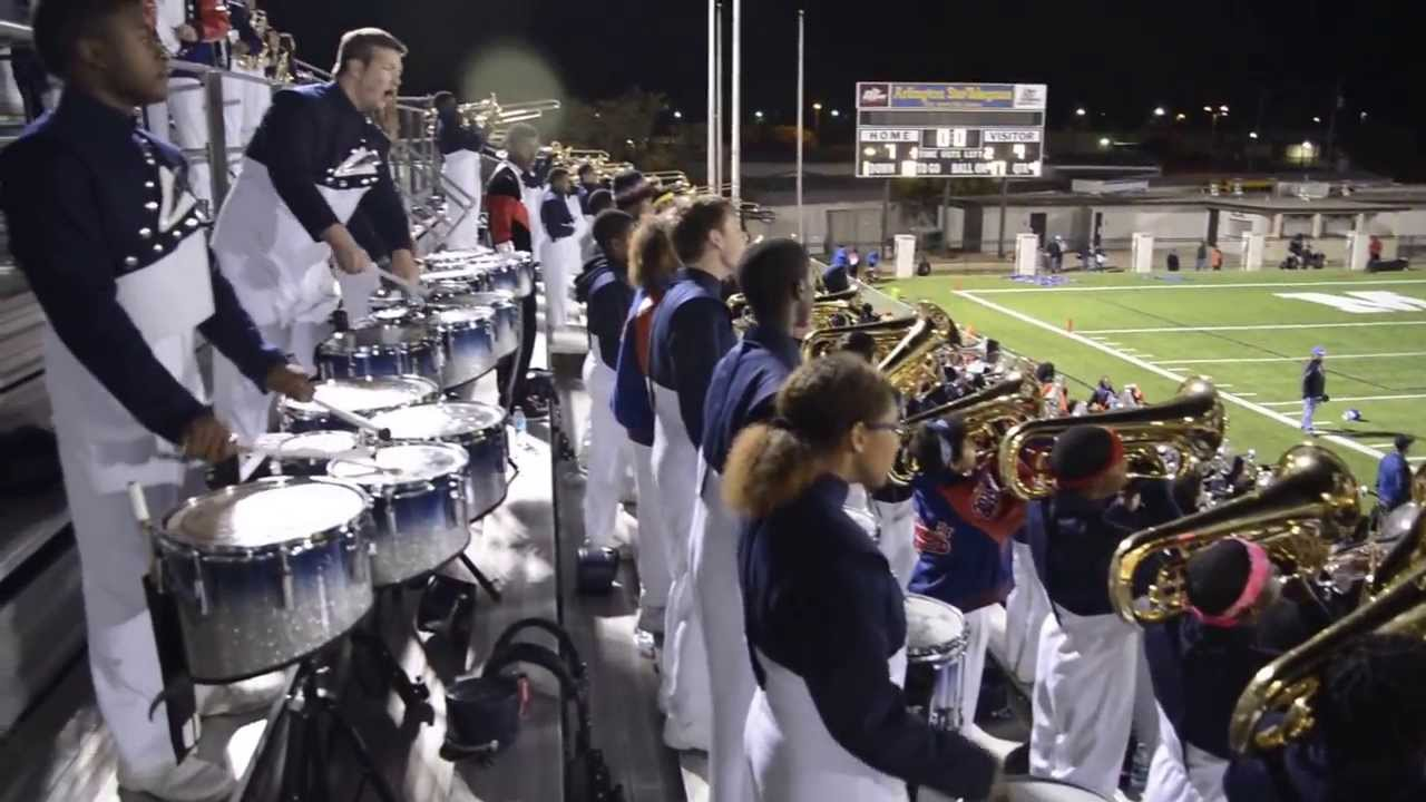 2013 Duncanville High School Marching band celebrates last game win (Indivisible season) - YouTube