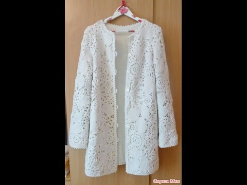 Crochet jacket| free |crochet patterns| 18 - YouTube