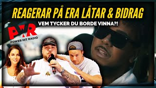 REAGERAR PÅ ERA RAP/SÅNG VIDEOS | POWER NEXT GENERATION *WOW*