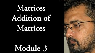 Operations among matrices : Matrices class XII tutorial -3