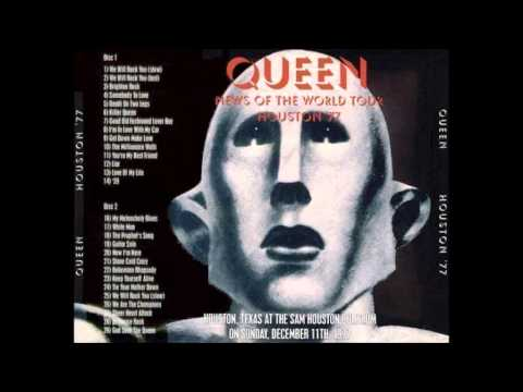 23. Queen - We Will Rock You, Live In Houston (12-11-1977)