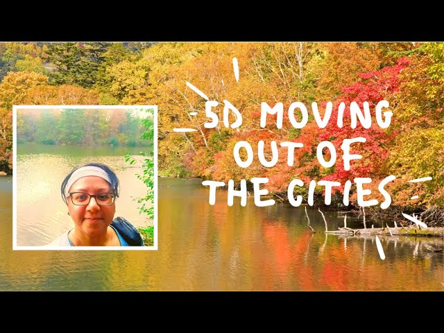 5D The importance of moving out of the cities