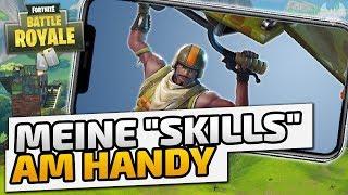 "Meine ""Skills"" am Handy - ♠ Fortnite Mobile Battle Royale #001 ♠ - Deutsch German - Dhalucard"