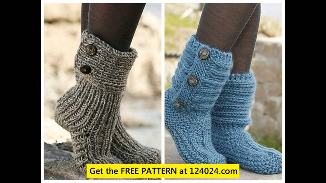 womens knit boots grey knitted boots free boot cuff knitting pattern ...