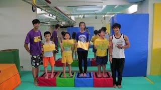 極限體能學院 兒童跑酷營 - Fun Action Vlog