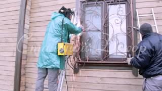 видео установка решеток на окна цена