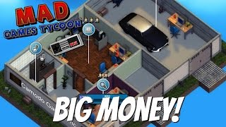 Mad Games Tycoon Gameplay- EP 1- Making Big Money!