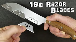 World's Sharpest Kitchen Knife! - (Razor Sharp!)