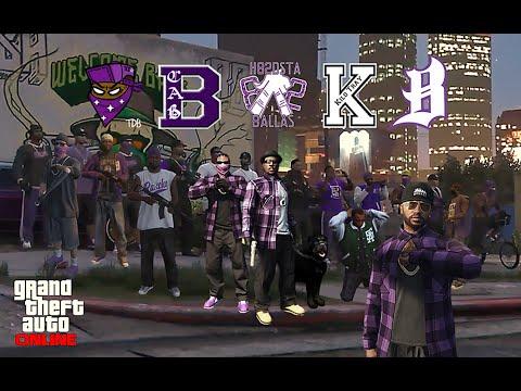 GTA 5 ONLINE - BALLAS NATION GANG IS HERE!! [United Balla Crews]