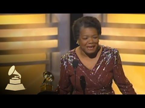 Maya Angelou GRAMMY Win  GRAMMYs