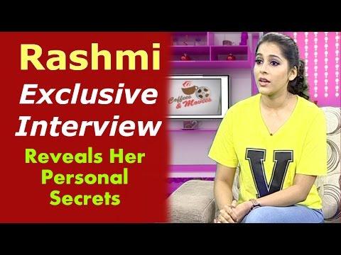 Rashmi Gautam Exclusive Interview | Reveals Personal Secrets | Coffees And Movies | HMTV