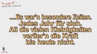 Kerstin Ott - Schau mal - Instrumental und Karaoke by rolf rattay