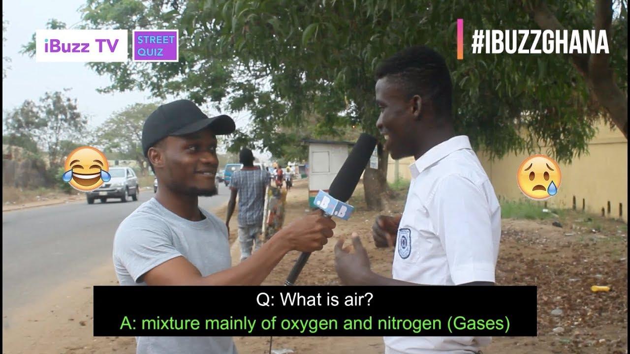 Download NEW! What is Air? Senior High School Street Quiz | iBuzz TV