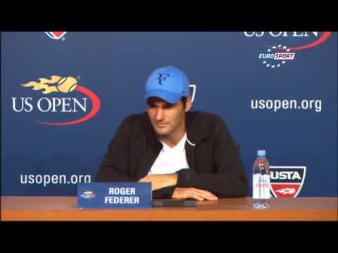 US Open 2013  R4    Full Match Highlights   Tommy Robredo vs Roger Federer