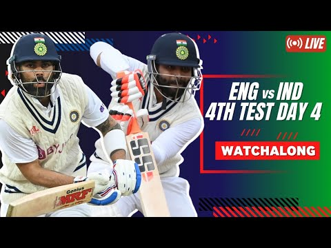 #ENGvIND | 4th Test Day 4 | Betway Mission Domination Watchalong LIVE