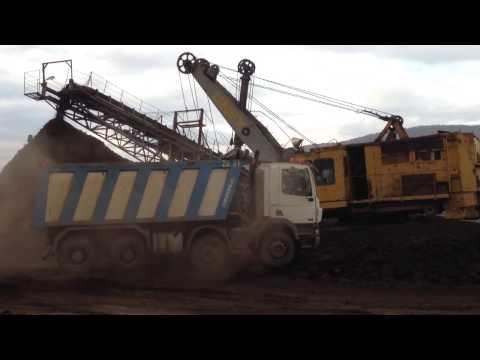 Coal mine in Bulgaria
