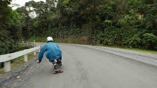 Longboarding Gravel: Best Downhill Raw Run EVER