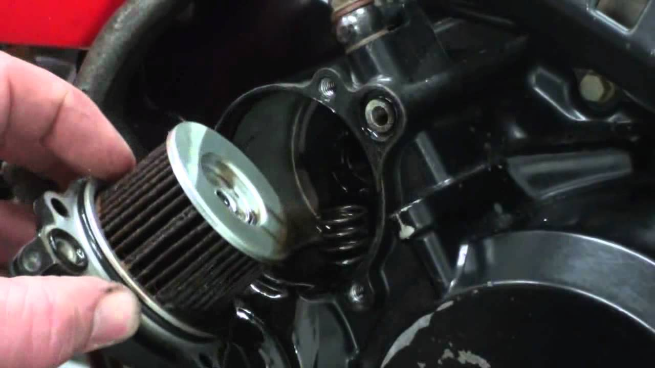honda atv fuel filter location