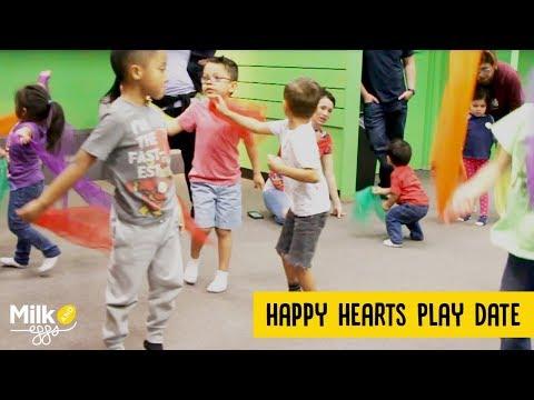 Happy Hearts Zumba Play Date Divas At Z-Bini Kidz In Redondo Beach