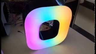 Светодиодная буква(Светодиодная буквы с применением новой технологии свечения. Изготовление LED букв с открытыми светодиодны..., 2015-01-23T14:11:04.000Z)