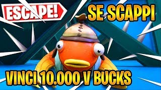 🔴SE SCAPPI DA QUESTA MAPPA VINCI 10.000 V BUCKS!! | Fortnite Battle Royale ITA (en)