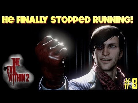 "THE ""PHOTO MAN"" FINALLY STOPS RUNNING! ( FUNNY ""THE EVIL WITHIN 2"" GAMEPLAY #8)"