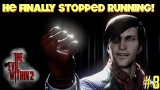 """THE """"PHOTO MAN"""" FINALLY STOPS RUNNING! ( FUNNY """"THE EVIL WITHIN 2"""" GAMEPLAY #8)"""