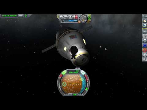 Kerbal Space Program RSS RO SLS Rocket 2 Part 1 Launch and Coast
