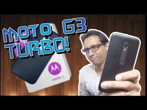 UNBOXING + Análise: MOTO G3 TURBO - Um Intermediário Que Vale A Pena...