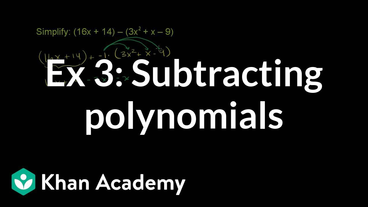 further  in addition Subtracting Polynomials Lesson Plans   Worksheets   Lesson Pla also Adding And Subtracting Polynomials Ex les Math Adding And further Subtracting polynomials  video    Khan Academy moreover  likewise Polynomials Worksheet With Answers Polynomials Worksheet Answer Key also Subtracting Polynomials Worksheets The best worksheets image as well Adding And Subtracting Polynomials Worksheet Math Adding And as well Polynomial Worksheets Subtraction as well Add polynomials  intro   practice    Khan Academy also  as well 9 Addition Facts Worksheet Medium – jmpindustrie additionally Clifying and Adding and Subtracting Polynomials moreover Subtract Polynomials Calculator Math Adding And Subtracting further Adding And Subtracting Polynomials Ex les Math Adding And. on subtracting polynomials worksheet with answers