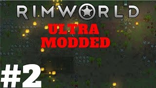 Rimworld Beta 18 - The Coyote Pack Faction - Episode 2 - Ultra Modded