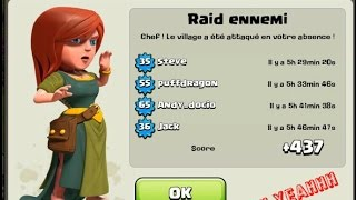 village hdv 8 dfense village rush th 8 bonus petite attaque