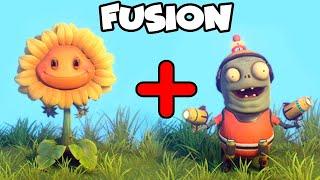 FUSION PVZ: GIRASOL CON ZOMBIDITO   Plants Vs Zombies: Garden Warfare 2