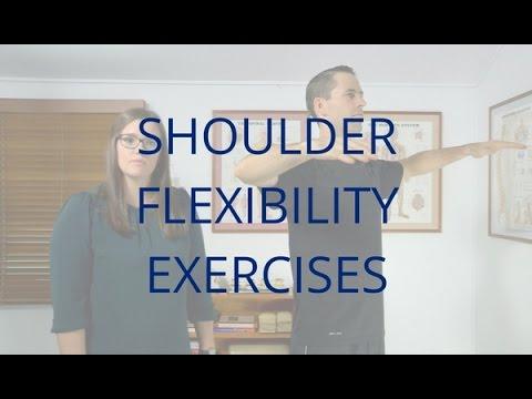 Shoulder Flexibility Exercises