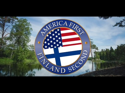FINLAND WELCOMES TRUMP - AMERICA FIRST, FINLAND SECOND! (OFFICIAL)