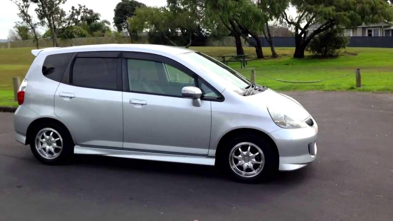 Honda fit 2005 s type face lift 1 3l auto youtube for Cars like honda fit