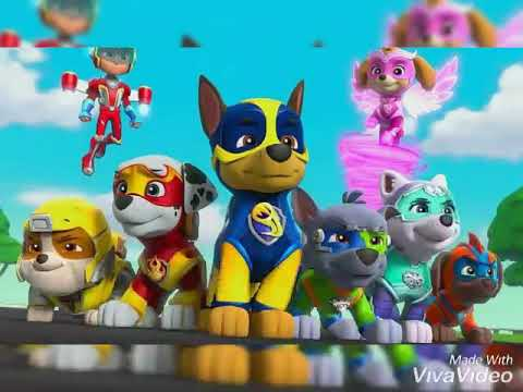 ''Immortals'' Song (From Big Hero 6) PAW Patrol Style!