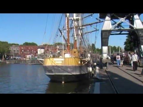Replica of John Cabot's 1497 Ship at Bristol Docks, England