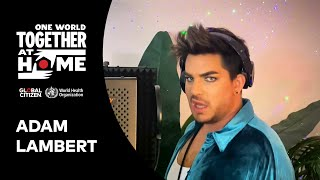 """Adam Lambert Performs """"Closer To You"""" 