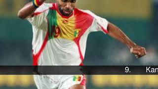 最高のアフリカのサッカー選手の歴史