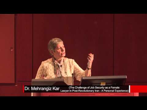 Dr. Mahrangiz Kar: The Challenge of Job Security as a Female Lawyer in Post-revolutionary Iran