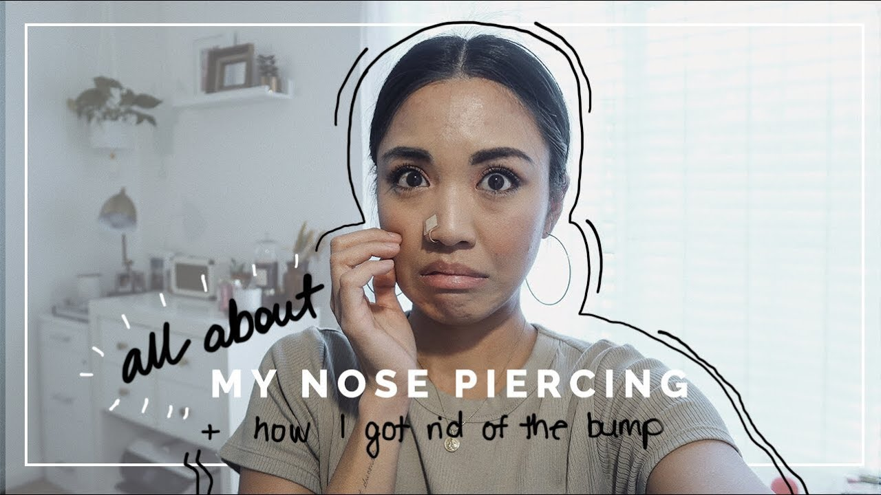 All About My Nose Piercing Nose Piercing Bump Removal Beautybitten Youtube